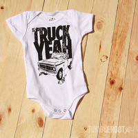 Truck Yeah Onesuit | Country Baby
