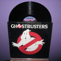 Vinyl Record Album Ghostbusters Original by JustCoolRecords