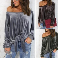 Sexy Strapless Butterfly Tops Women's Fashion Hoodies [22425665562]
