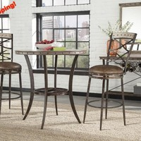 102020 Emmons Bar Height Bistro Dining Set - Free Shipping!