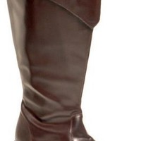 Adult Brown Tall Pirate Boots (Size:Small 8-9)