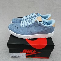 Air Jordan 1 Retro AJ1 Low Blue Men Sport Sneaker