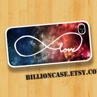 Infinity Of Love Over Space - iPhone 4 Case iPhone 4s Case iPhone 5 Case idea case Galaxy Case
