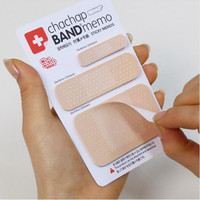 DIY Cute Band-aid Memo Pad Sticky Note Kawaii Paper Sticker Pads Post It Note Creative Korean Stationery 322