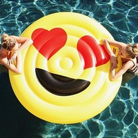 Emoji Inflatable Pool Party Float
