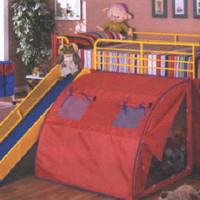 Color Crayon Fort Bed
