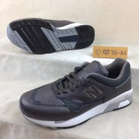 CXON New Balance NB1500 Genuin Leather Black For Women Men Running Sport Casual Shoes Sneakers