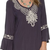 SWELL PUDDLE TUNIC DRESS