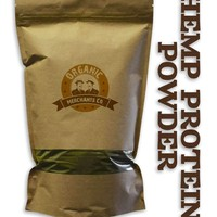 Organic Hemp Protein Powder - 8oz Package - Kosher, NON GMO, RAW, Vegan