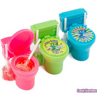 Sour Flush Candy Toilets: 12-Piece Box | CandyWarehouse.com Online Candy Store