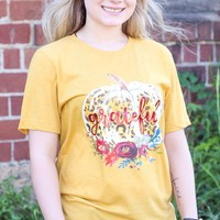 {H. Mustard} Grateful Pumpkin Tee