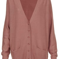 Knitted Texture Stitch Cardi - Topshop USA