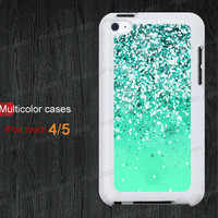 IPod case ipod touch 5 case ipod 4 case beautiful green dots photo iPod 5 case iPod touch 4 case