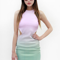 Fade Out Cut Out Dress