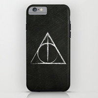 Deathly Hallows (Harry Potter) iPhone & iPod Case by Daizy Jain