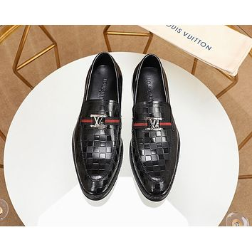 louis vuitton men fashion boots fashionable casual leather breathable sneakers running shoes 5