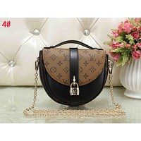 LV Hot Sale Women Retro Leather Handbag Crossbody Satchel Shoulder Bag 3#