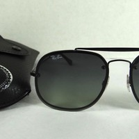 RAY BAN Sunglasses BLAZE THE GENERAL Black RB3583N