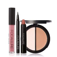 New 4Pcs Easy Makeup set
