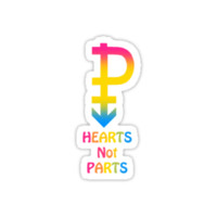 Pansexual HEARTS NOT PARTS! by TateBarker92