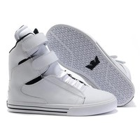 One-nice™ SUPRA Bleeker Woman Men Fashion High-Top Flats Shoes