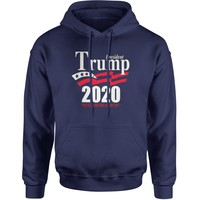 President Trump 2020 Keep America Great Adult Hoodie Sweatshirt