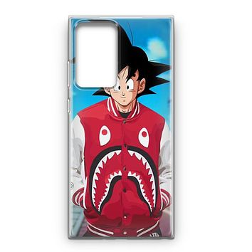 Goku Bape Artwork Samsung Galaxy Note 20 Ultra Case