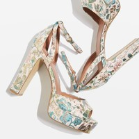 MARGOT Jacquard Heeled Platforms