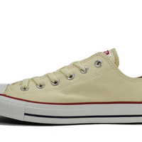 Converse Unisex: All Star Ox Natural White Sneaker