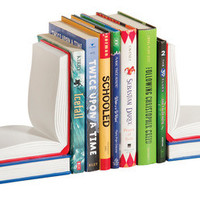 Guidecraft Open Book Bookends - G6311