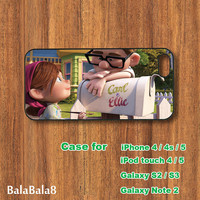 carl and ellie - iPhone  4 case, iphone 5 Case, iPod 4 case,  iPod 5 case,  Samsung Galaxy S3 / S2 case Galaxy note 2 case