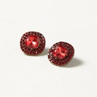 Caviar Cabochon Posts by Baublebar x Anthropologie Red One Size Earrings