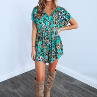 Following The Sun Romper: Multi