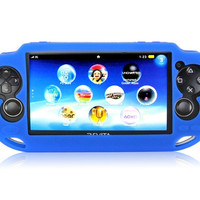 Protective Silicone Case for PS Vita Console (Blue)
