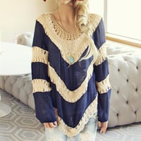 The Blake Tunic in Navy