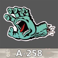 A-258 Waterproof Paper Posted Single Tide Brand Car Stickers Car Stickers Skateboard Trolley Cartoon Stickers Graffiti