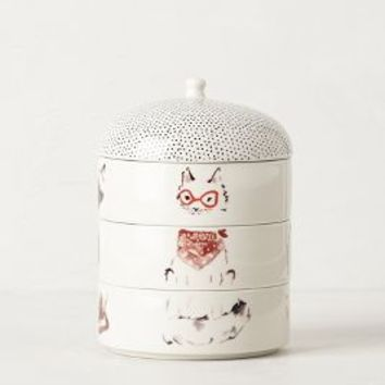 Paws & Claws Stackable Candle by Illume Water Lotus Cats Candles