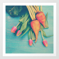 The Beet Goes On Art Print by Olivia Joy StClaire