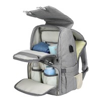 Baby Diaper Bag/Backpack w/ USB Interface