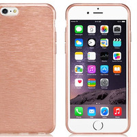 Brushed TPU Rubber Case for iPhone 6\6s