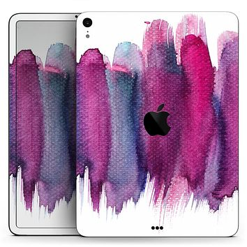 "Violet Mixed Watercolor - Full Body Skin Decal for the Apple iPad Pro 12.9"", 11"", 10.5"", 9.7"", Air or Mini (All Models Available)"