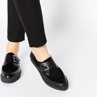 ASOS MOMENTO Pointed Flat Shoes