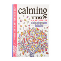 Calming Therapy an Anti-Stress Coloring Book