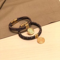 Louis Vuitton Lv Keep It Twice Monogram Bracelet - Best Online Sale