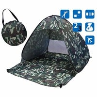 Camouflage Beach Tent