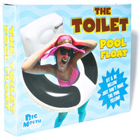 Big Mouth Toys The Toilet Pool Float Multi One