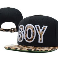 Perfect Boy London Leopard Snapback hats Women Men Embroidery Sports Sun Hat Baseball Cap Hat