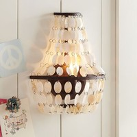 Shell Swag Sconce