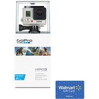 Walmart: GoPro HERO3 White Edition Action Camcorder and $20 Walmart Gift Card Value Bundle