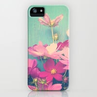 Pink Cosmos iPhone & iPod Case by Olivia Joy StClaire